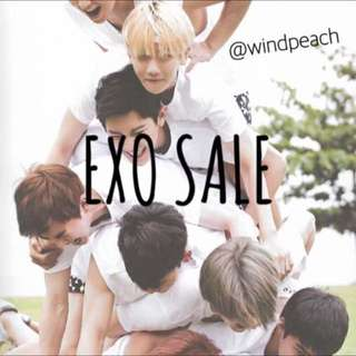 OFFICIAL EXO MERCH SALE/CLEARANCE