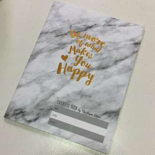 The Paper Stone Marble Quote Notebook