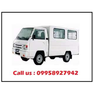 L300 FOR RENT EXCEED DUAL AIRCON