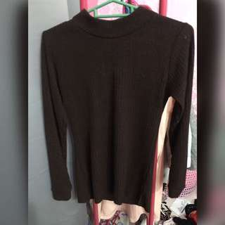 Highneck dark brown