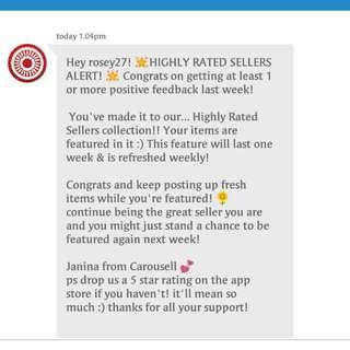 Thanks Carousell! 😍😍😍