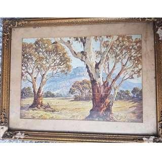 Antique Painting - Dudley Parker
