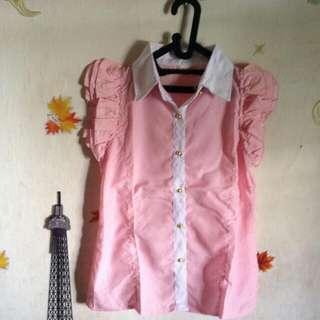 (new) Kemeja Pink
