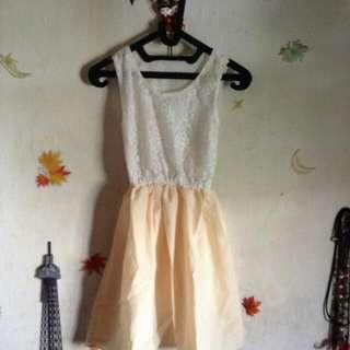 (new) Dress Peach Brukat