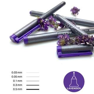 [IN STOCK] Copic Multiliner Inking Pen, Lavender