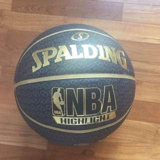 SPALDING G7 BASKETBALL ( BLACK & GOLD )