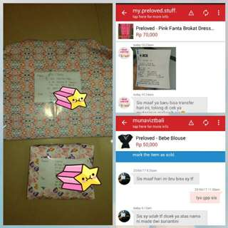 Shipping Tomorrow👍 Thanks a lot Sista2 Sudah Order🙏
