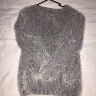 KOREAN FLUFFY SWEATER