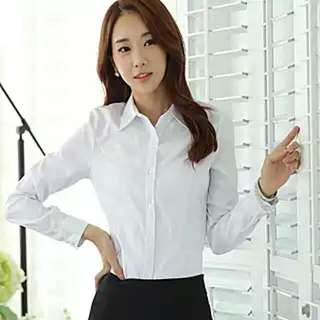 White Formal Office Shirt / Blouse