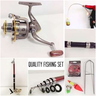 Top Quality Fishing Rod Reel Gear Set Package with Free Gifts