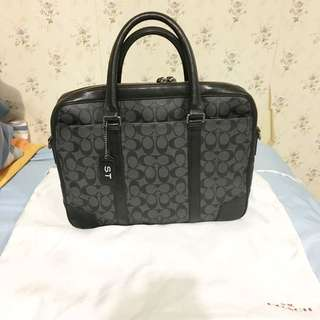 authentic Coach 3 way shoulder bag