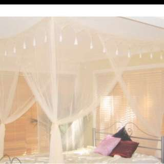 Bedding Four Poster Bed Netting Only Qs