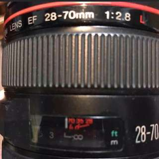 Canon Ef 28-70 F2.8 L