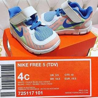 Nike White Blue Kids