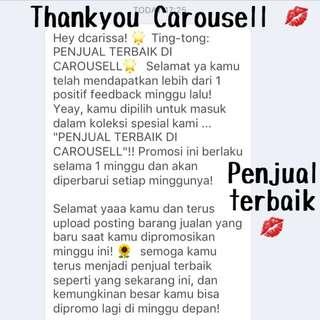 💋thankyou Carousell