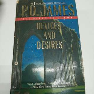 PD James: Devices and Desires