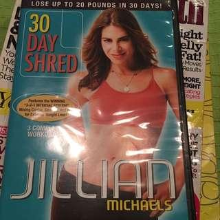 Jillian Michaels 30Day Shred Dvd