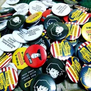 Button Badges #semuanyaRM2