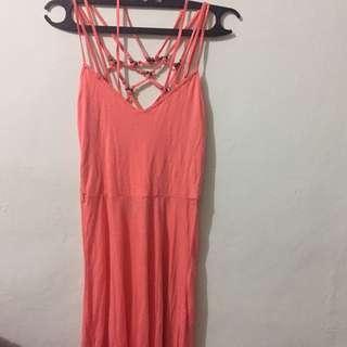 Warehouse Brand Dress (peach)
