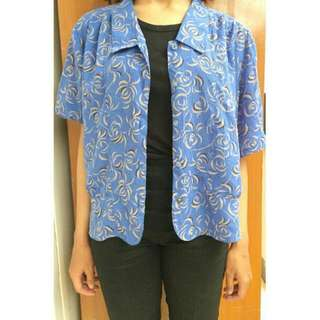 SALE 30%! ABSTRACT BLUE TOP