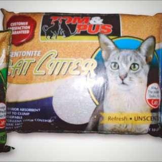 Tom & Pus Cat Litter