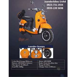 1000WATTS SCOOPY EBIKES