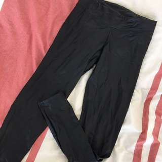 Leather Leggings Size M