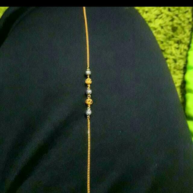 22k Saudi Gold Bracelet..2.17grms Selling