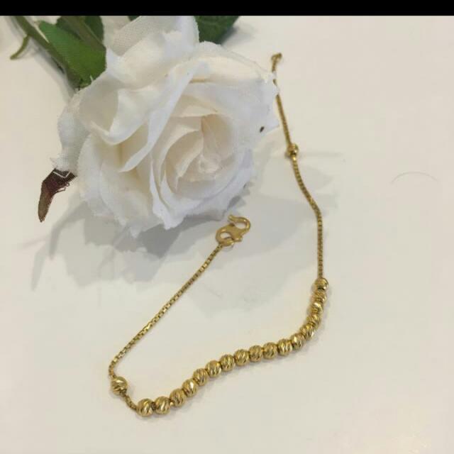 22k Saudi Gold Bracelet