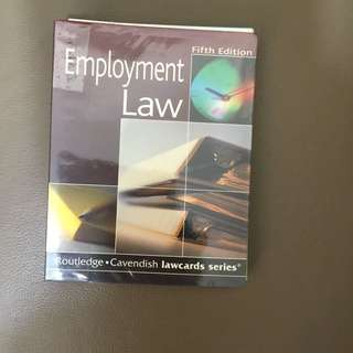 Employment Law - Lawcards - 法律