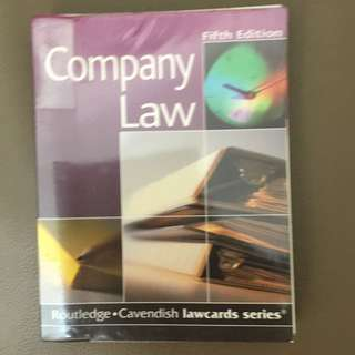 Company Law - Lawcards - 法律
