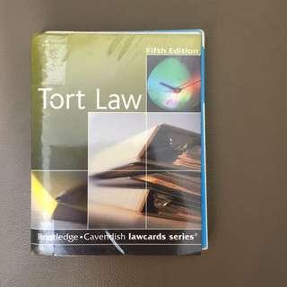 Tort Law - Lawcards - 法律