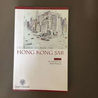 Introduction To Law In The Hong Kong SAR - Law 法律