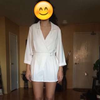 TOPSHOP Creme romper (Still Available)