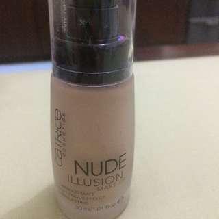 SALE!! Catrice Nude Illusion Foundation 15 Nude Vanilla