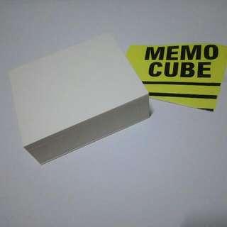 REPRICED!!!! Memo Cube Pads