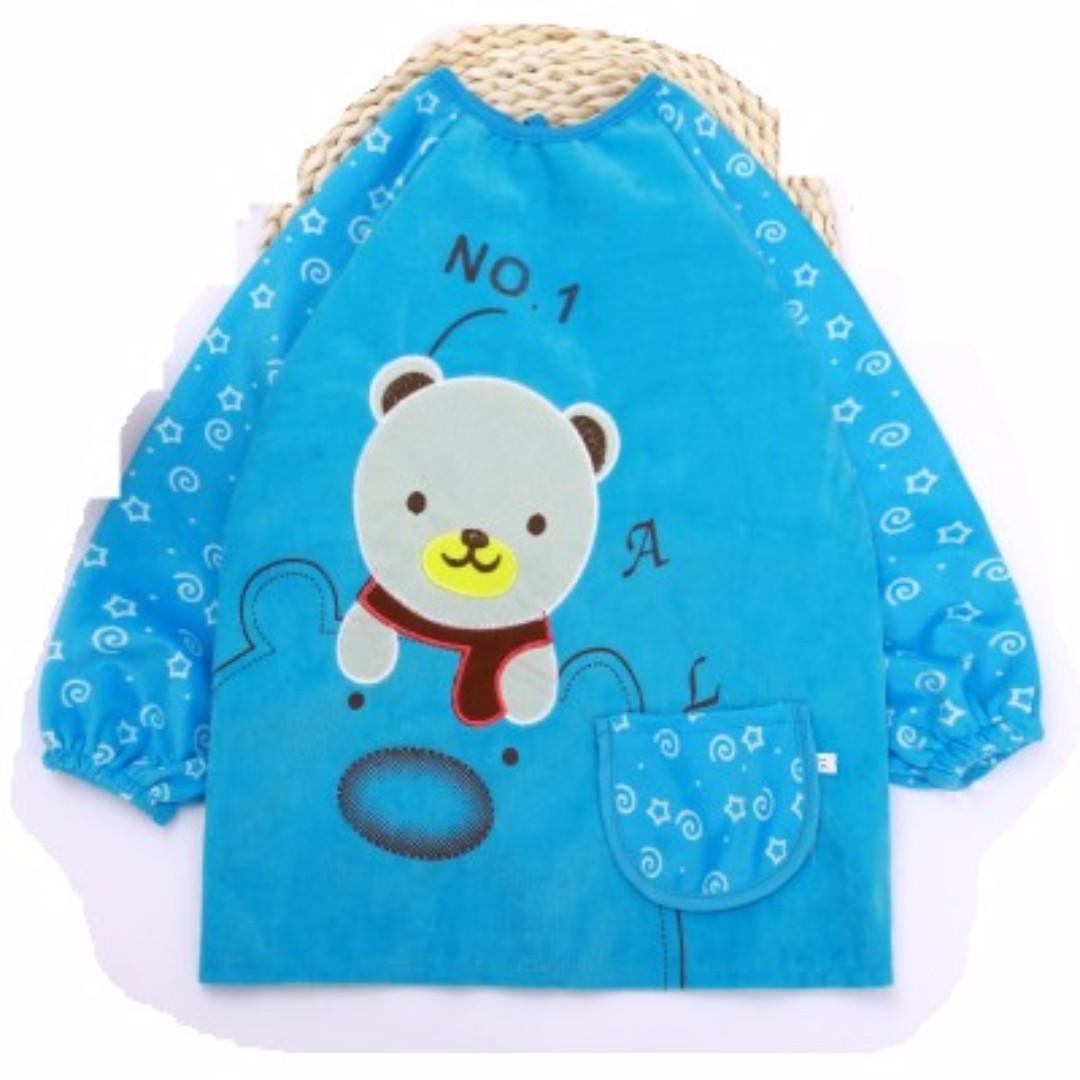熊熊細絨畫畫衣(4-5歲)兩色