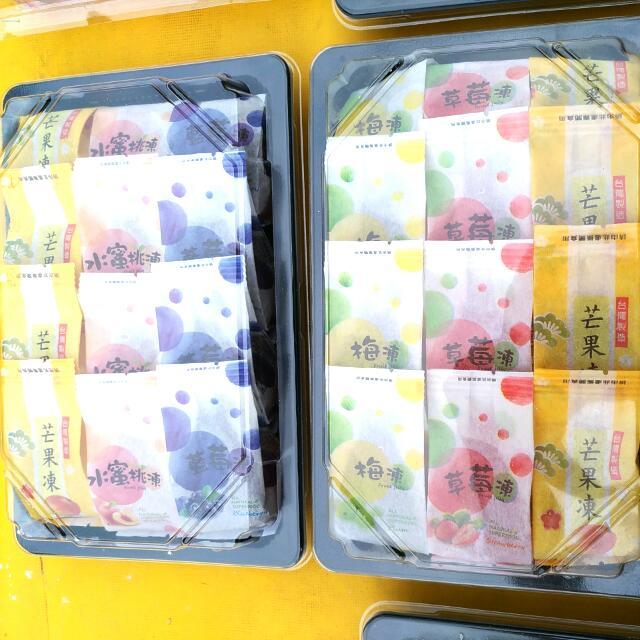 嚴選伴手禮盒頂級水果蒟蒻凍特價中