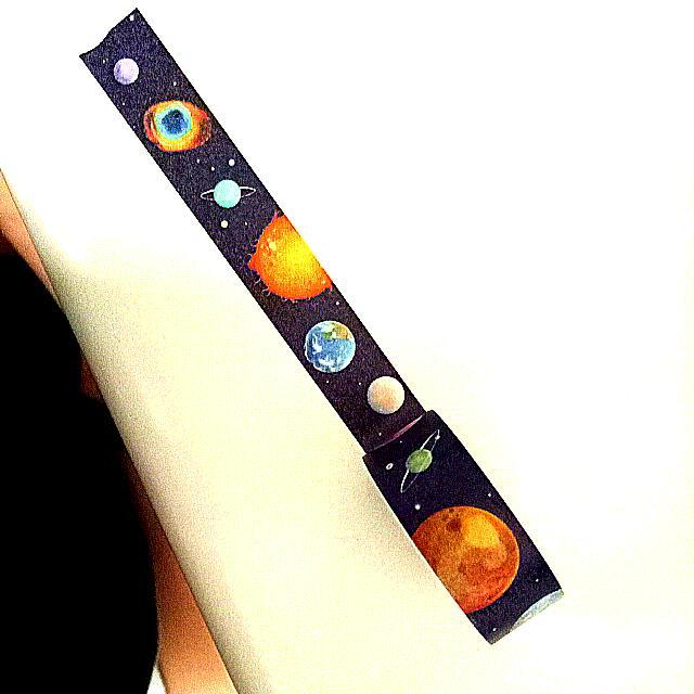 那顆孤獨美麗的星球 售整捲紙膠帶