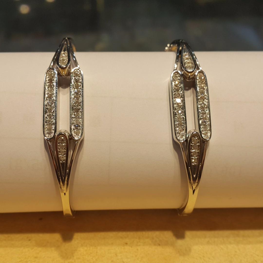 鑽石手環 扣式 手圍5.5CM