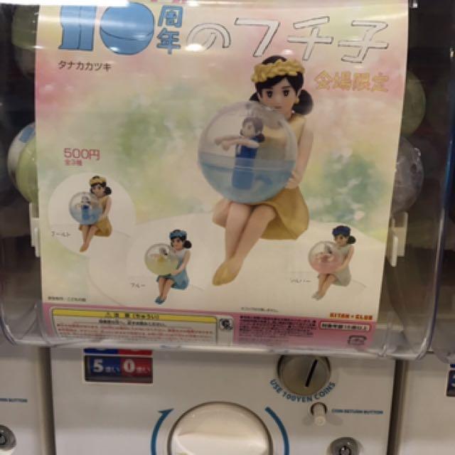 日本 扭蛋 限定 杯緣子 10週年