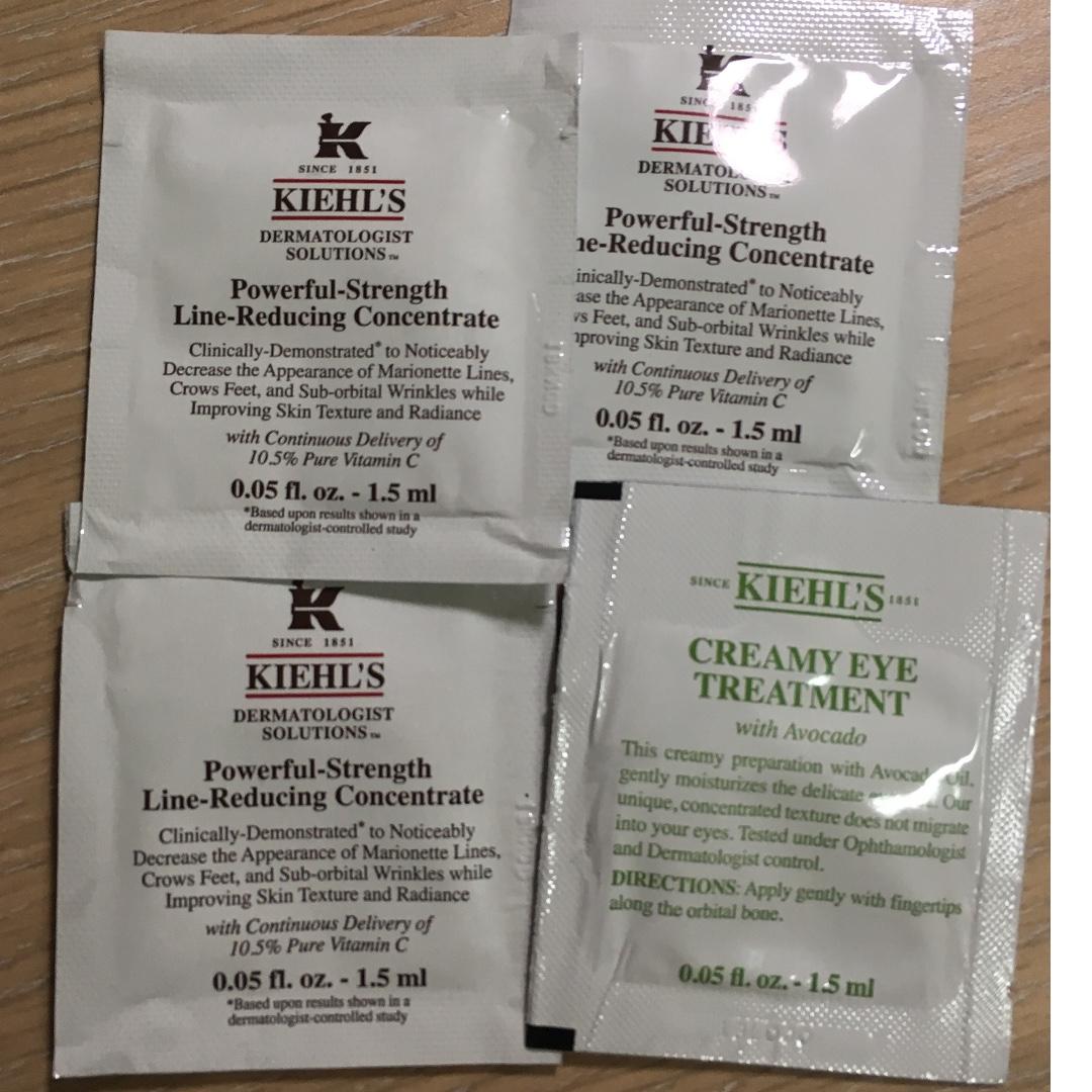[只送不賣] Kiehl's 契爾氏 熱賣商品 酪梨眼霜 彈力精華液