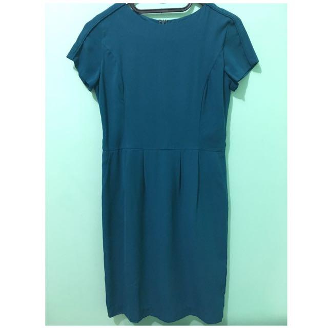 Accent Green Dress