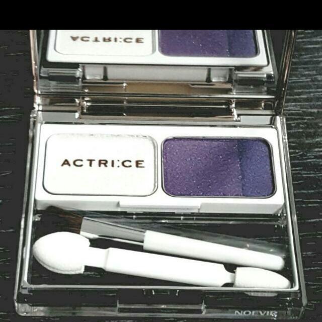 日本原裝【ACTRI:CE】 全新品 紫色調漸成眼影