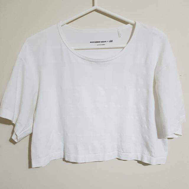 Alexander Wang X H&M Crop Top Size S