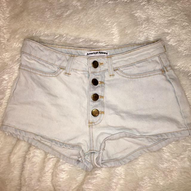 American Apparel Shorts Size 24