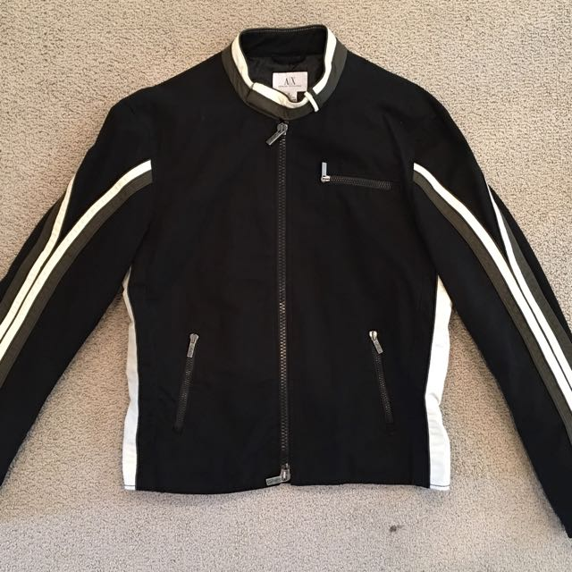 Armani Exchange moto jacket