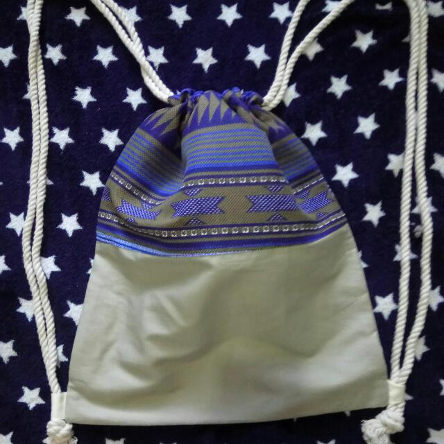 Aztec Drawstring Bag