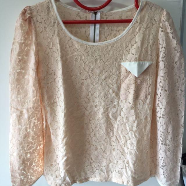 Baju Jaring Pink