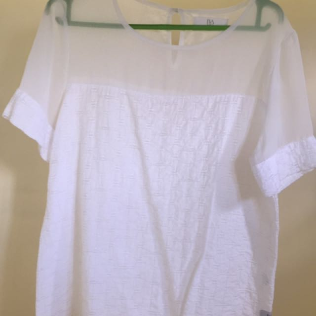Bayo White Ladies' Top